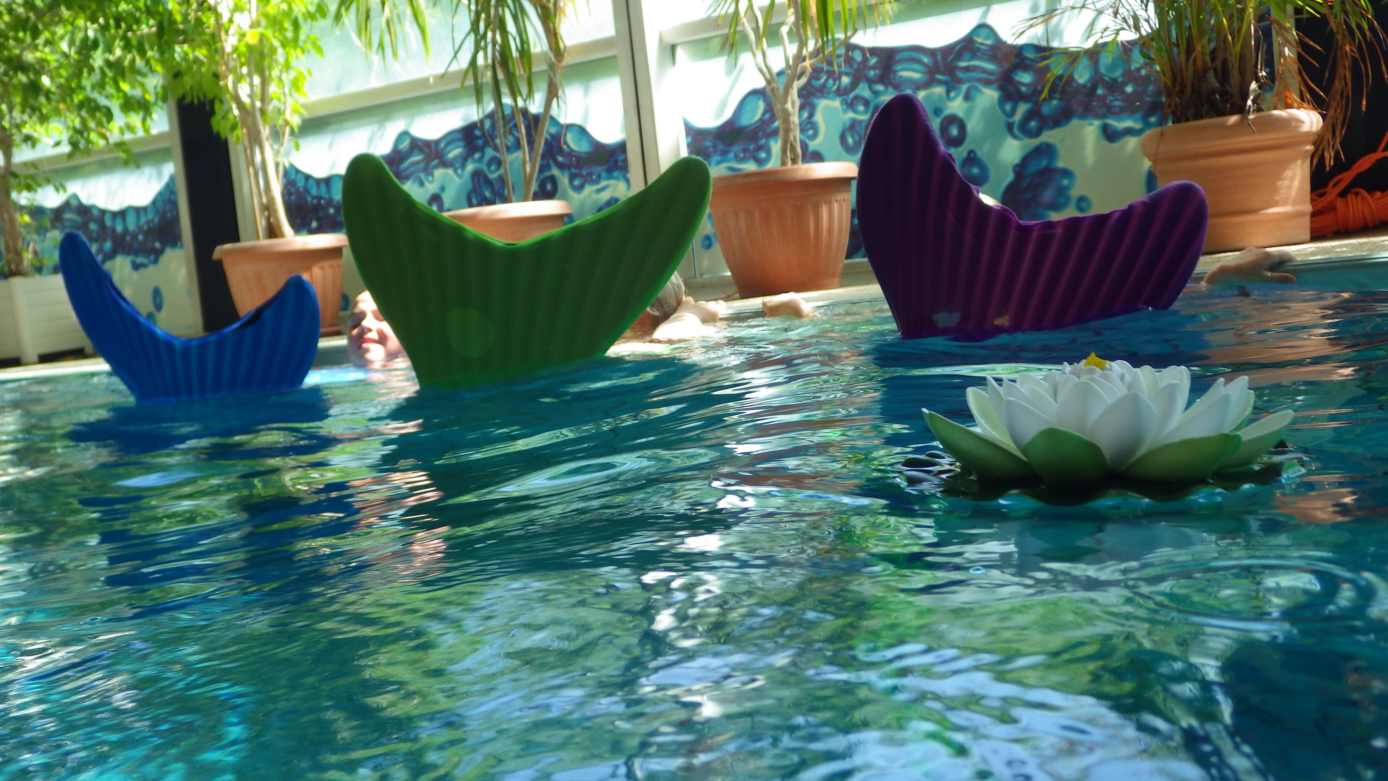 Mermaids im Wasser